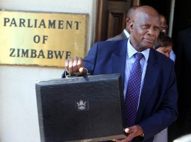 Mnangagwa appoints Chinamasa as Zimbabwe finance chief