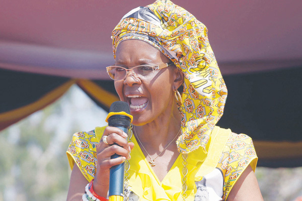 Grace resumes rallies amid tension