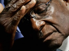Zimbabwe's Robert Mugabe and wife Grace 'insisting he finishes his term', as priest steps in to mediate