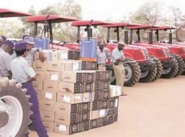 Grace defies MDC lawsuit threats, distributes government sourced tractors