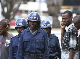 Soldiers, police thwart MDC-T demo