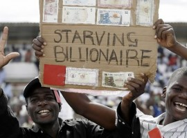 New Zimbabwe Notes Stir Memory of 500,000,000,000% Inflation