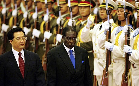 Few tears in China as old friend Mugabe ousted in Zimbabwe