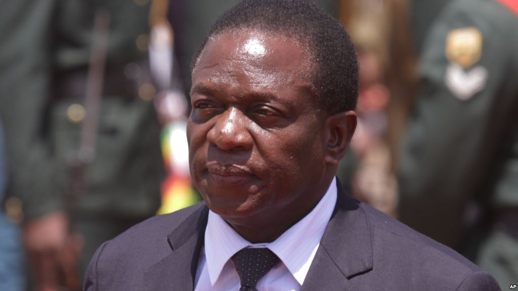 Mnangagwa rules out sharing power as he meets Tsvangirai