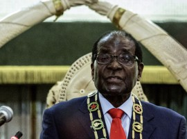 Opposition parties urge Mugabe to resign over India trip