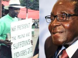 Mugabe protest pastor unfazed