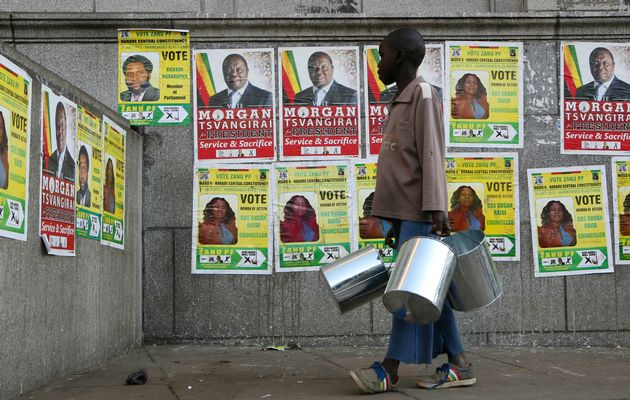 diplomatic offensive demos for poll reforms free fair zimbabwe