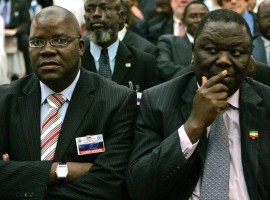 Tsvangirai and Biti in talks