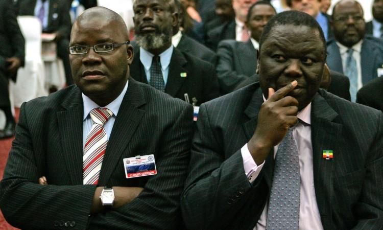 Tsvangirai and Biti in talks