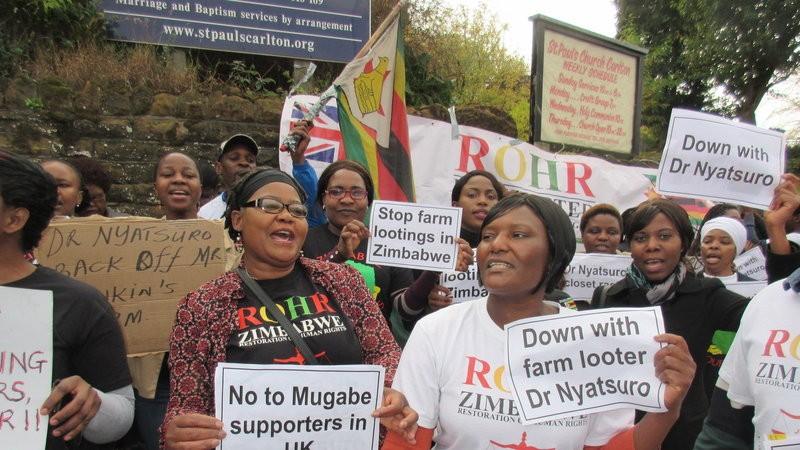 Petition: Revoke citizenship of British doctor who has seized Zimbabwean farm