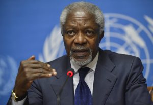 Annan warns cling on African leaders