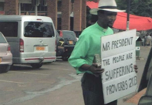 Church leaders join anti-Mugabe drive