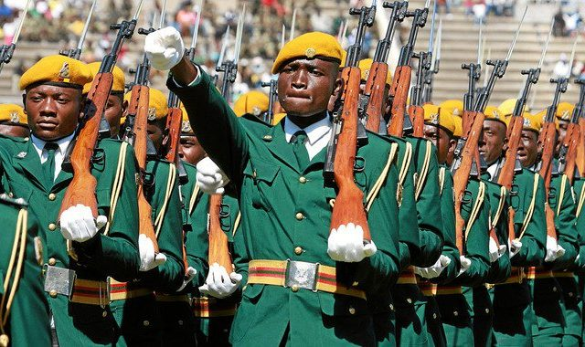 Mugabe versus the military