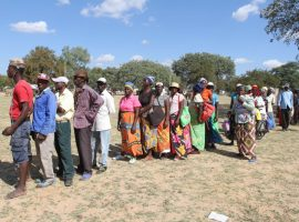 Land Bill meeting flops as residents come for 'food handouts'