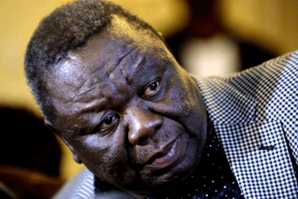 Tsvangirai is buried in rural home