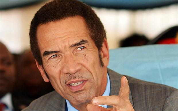 Time for Mugabe to go, says Botswana President Khama