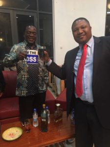 Mugabe succession: Fury over VP Mnangagwa's 'I'm the boss' coffee mug