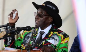 Wheelchair gift 'is proof Mugabe now physically and mentally unfit to rule'