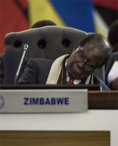 Mugabe Sleep
