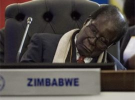 Picture of Mugabe 'sleeping' as Trump addresses UN General Assembly goes viral