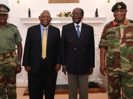 Zimbabwe stand-off as Mugabe refuses to bow to military pressure