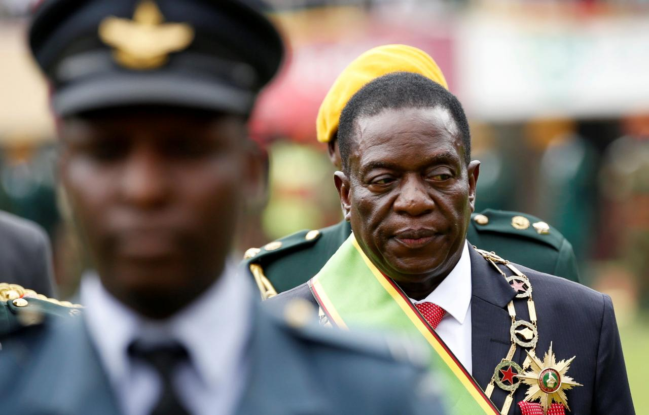 Bite the bullet, opposition tells Mnangagwa