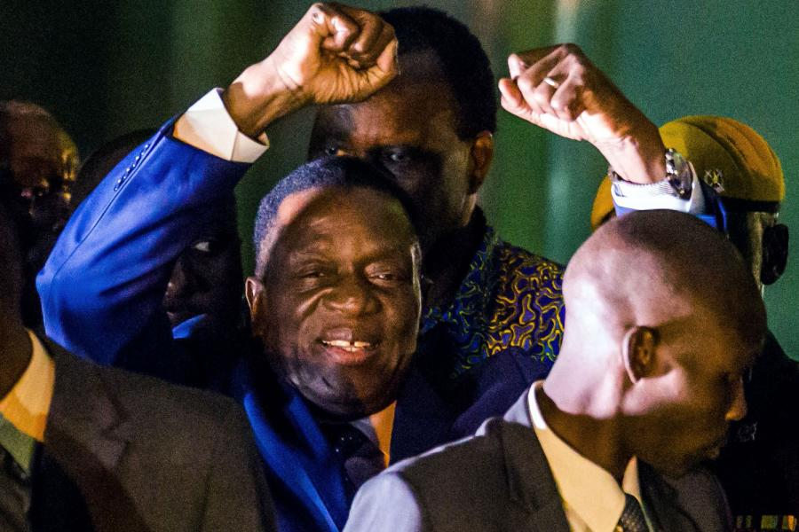 Zimbabwe president Emmerson Mnangagwa makes Time's list of 100 most influential people