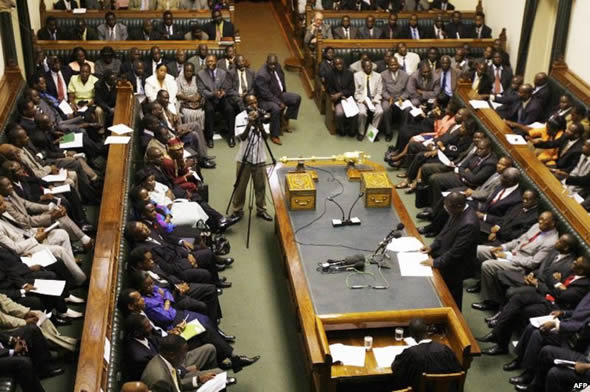 Zimbabwe parliament begins session to impeach Mugabe