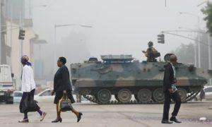 Mugabe and military talks continue amid political limbo