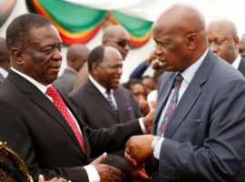 Zimbabwe swears in first post-Mugabe Cabinet