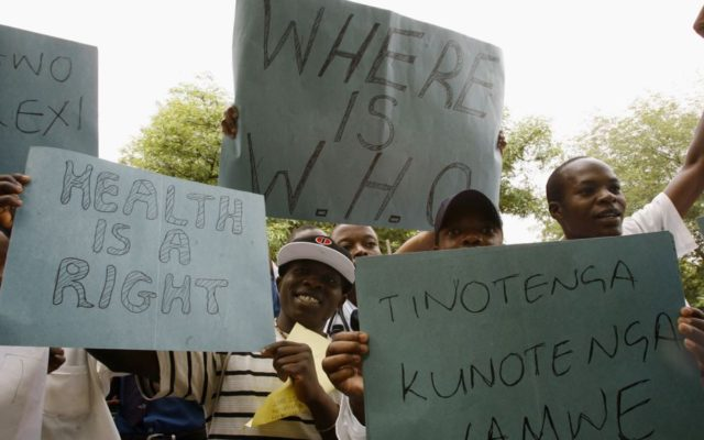Zimbabwe Govt Fires 16,000 Striking Nurses